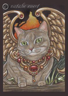 Bejeweled Cat 37 by natamon.deviantart.com on @deviantART