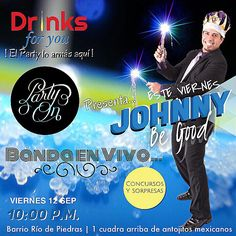 HOY DÍA DE CELBRACION  FUIMONOS POEEEE LES ESPERAMOS❤️ #fullparty #musicaenvivo #salsa #merengue #reggaeton #punta #cumbia #bodas #eventos  www.johnnybegoodhn.com  Youtube.com/johnnybegoodhn  Facebook.com/johnnybegoodhn ☎️ (504) 9982-5872