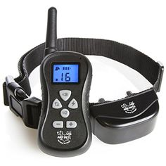 Dog Training Collar with Remote  Bark Control  16 Levels of Shock Vibration and Beep IPX5 Water Resistant Up to 300 Yards with Adjustable Collar for Small Large Breeds  Arf Pets >>> You can find out more details at the link of the image.Note:It is affiliate link to Amazon.