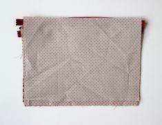 DIY pas à pas : jolie pochette en tissu Diy Clothes Videos, Bandana, Patches, Embroidery, Deco, Simple, Blog, Dimensions, Hui