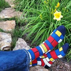 This is a cool pic and sockswag on point! Everyone wake up and bloom! by teamstrongsocks Funky Socks, Crazy Socks, Cool Socks, Silver Socks, Funky Art, Fancy, Happy Socks, Fashion Socks, Cool Designs