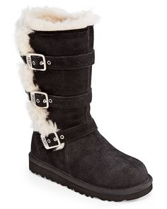 UGG® Australia Girls' Maddi Buckle Boots - Toddler, Little Kid, Big Kid | Bloomingdale's