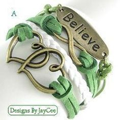 'Choose One Layered Leather Bracelet' is going up for auction at  9am Fri, Aug 2 with a starting bid of $3.