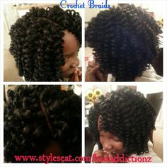 Crochet Hair Augusta Ga : ... Hair Styles by Crys on Pinterest Havana twists, Protective braids