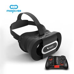 Foldable VR Glasses, Virtual Reality Headset VR Box for Mobile Movies Video Games, Lightweight & Portable, for iPhone 7 Plus Samsung LG and Other inch Smartphone Goggles Glasses, 3d Glasses, Google Cardboard V2, Cardboard Vr Headset, Iphone 7 Plus, Iphone 6, Vr Helmet, Best Virtual Reality, Virtual Reality