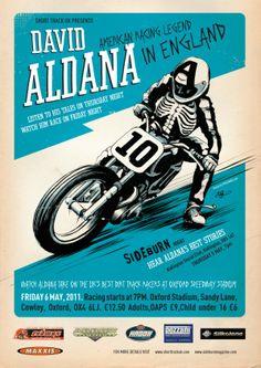 Poster by Adi Gilbert for Sideburn