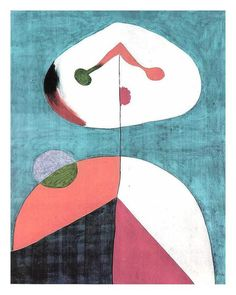 'Portrait II', 1938 von Joan Miro (1893-1983, Spain)