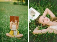 Get snapped with your favorite book.   47 Brilliant Tips To Getting An Amazing Senior Portrait