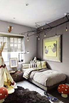 Cart Platform Bed Eclectic Boy S Room Rob Stuart Interiors This Has To Be One Of My All Time Favorite Kid Designs