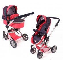 Red Dots, Baby Strollers, Chic, Baby Prams, Shabby Chic, Elegant, Prams, Strollers