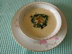 Nefis Mantar Çorbası | Güncel Yemek Tarifleri Panna Cotta, Soup, Ethnic Recipes, Dulce De Leche, Soups