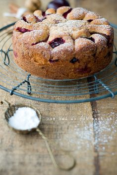 Plum Crumble Cake by decor8