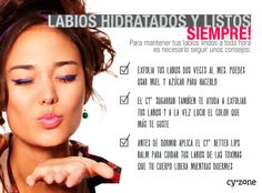 Labios hidratados y listos para besar! #PrimerasVecesbyCyzone