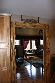 http://www.attictreasuresfurniture.com/images/Krummrey%20House/Rustic%20Doorway.JPG