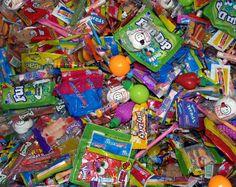 Halloween candy tastes great