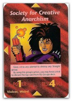Illuminati Card Society for Creative Anarchism