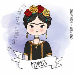 #Fridakahlo #Frases #ilustração