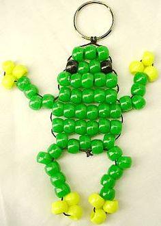 Ponybead frog