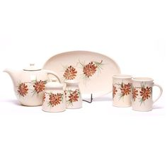 Ceramic Tea Set - 9 Pattern Options