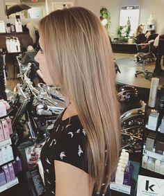 Pretty dark blonde hair