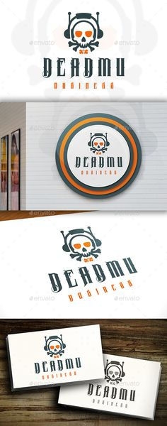 Dead Music - Logo Design Template Vector #logotype Download it here: http://graphicriver.net/item/dead-music-logo/11498767?s_rank=207?ref=nexion