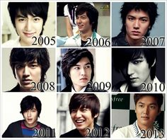 2005: Cutie x3 2006: Nice :3 2007: Pls, don't kill me o_o 2008: <3 2009: Love him <3 2010: Sexy ;3 2011: Still love him <3<3 2012: HOT! *~* 2013: Like ur hairs, hottie <3