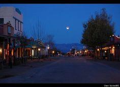Lunar Eclipse Tombstone Arizona