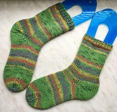 Tinas kreative Seite - selbstgestrickte Socken - Opal-Dickerchen