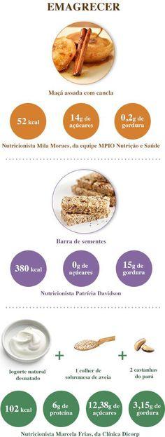 Nutricionistas indicam comidinhas para diferentes objetivos, que vão de emagrecer a ganhar massa muscular