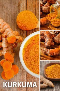 """Kurkuma wird seit 4000 Jahren in der traditionellen chinesischen und ayurvedischen Medizin eingesetzt wird. Es wird auch als das """"gesündeste Gewürz der Welt"""" und verleiht jedem Curry seine intensive gelbe Farbe. Curcumin wirkt entzündungshemmende und hat einen positiven Effekt auf die Blutgefäße. Green Superfood, Ethnic Recipes, Thailand, Curry, Japan, Instagram, Healthy Dieting, Complete Nutrition, Natural Medicine"""