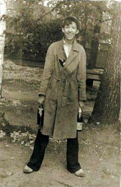 Молодой Юрий Никулин, 1930-е годы.