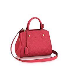 Montaigne BB +Monogram Empreinte - Handbags | LOUIS VUITTON