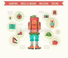 Hiking Stock Photos, Illustrations and Vector Art - Page 2 | Depositphotos®