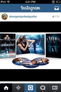 Divergent movie-August 5