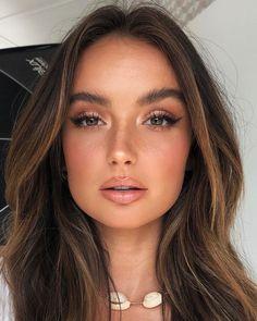 Natural Makeup For Brown Eyes, Makeup Looks For Brown Eyes, Natural Makeup Looks, Natural Bridal Makeup, Natural Lashes, Light Makeup Looks, Natural Summer Makeup, Summer Eye Makeup, Natural Everyday Makeup