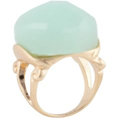 ALDO Amphillis ring ($10) ❤ liked on Polyvore featuring jewelry, rings, accessories, light green, aldo, aldo jewelry и aldo rings
