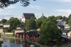 Have you ever heard of Porvoo, a town about 50 km from Helsinki, Finland? Here we give you 10 reasons to visit Porvoo, the perfect day trip from Helsinki! Helsinki, Day Trip, Finland, Planets, River, Rivers