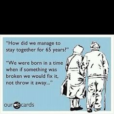 This means a lot to me. I will grow old with my husband :)