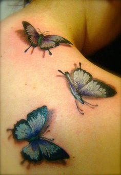 Butterfly tattoo Design Idea - Tattoo Design Ideas