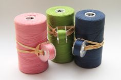 Bobbin organization - clever way to keep thread and bobbins together