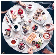 Breakfast - photo by @lichipan // #timeto: feast.