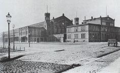 1872 Der Frankfurter Bahnhof (heute Ostbahnhof)