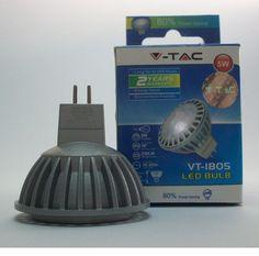 LED SPOTLIGHT 5W GU5.3 12V EPISTAR 4500K - FARETTO SPOT