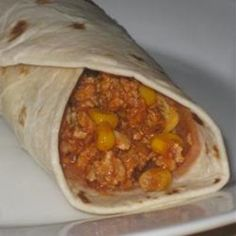 Gary's Turkey Burritos - Click image to find more popular food & drink Pinterest pins