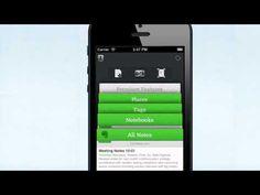 生まれ変わった Evernote 5 for iPhone, iPad and iPod Touch 紹介