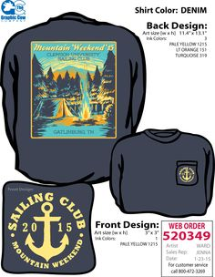 Mountain Weekend Camping - Design by Ward.