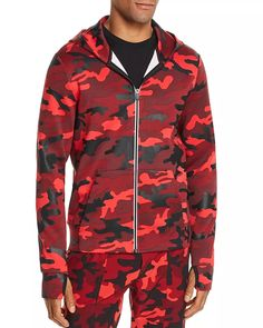 Camo Men, Camo Hoodie, Bomber Jacket, Michael Kors, Zip, Hoodies, Jackets, Shopping, Fashion