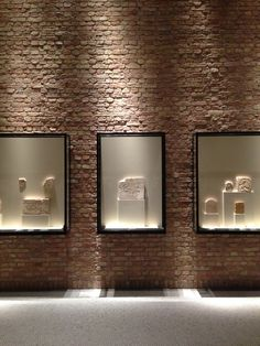 light-washed brick Architectural Inspiration, Decor, Lighted Bathroom Mirror, Light, Brick, Mirror, Bathroom Lighting, Bathroom Mirror, Home Decor