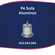 Pé de sofá Alumínio