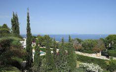 Sol de Mallorca - Villa Deluxe mit traumhaftem Panorama-Meerblick Pergola, Villa, Arch, Outdoor Structures, Garden, Fireplace Living Rooms, Ground Floor, Real Estates, Longbow